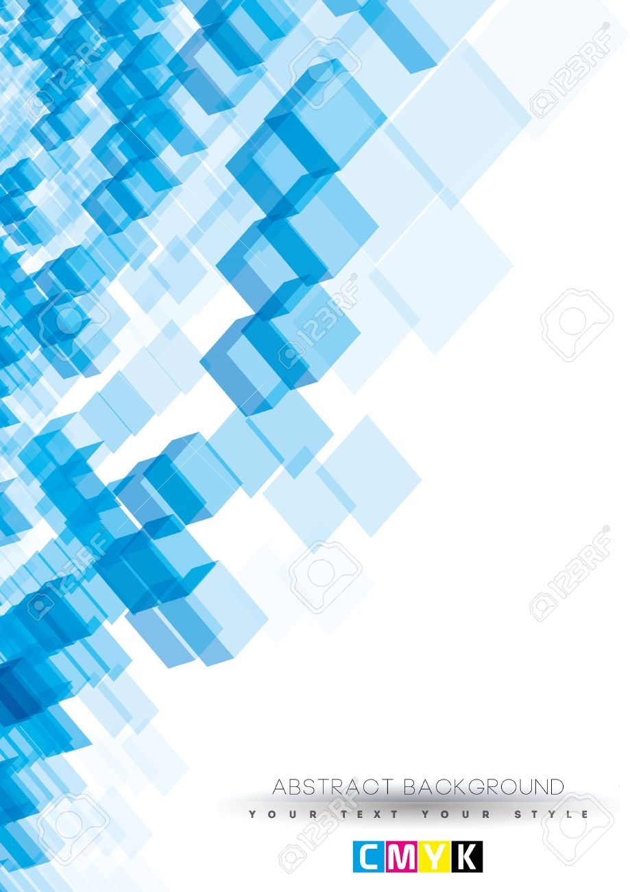 Best background design cover page Abstract Blue