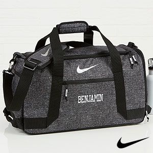 Nike Embroidered Duffel Bag Name
