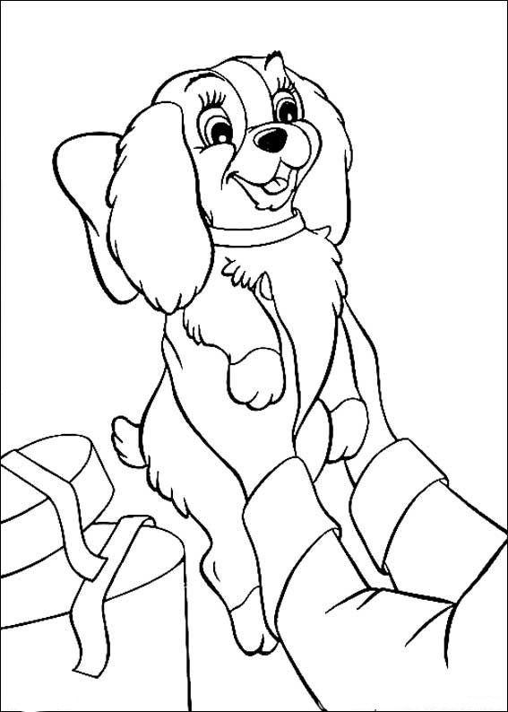 Susi Und Strolch Ausmalbilder 15 Zeichnungen Puppy Coloring