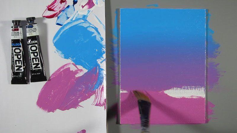9 Acrylic Blending Techniques How To Make Paint Acrylic Tutorials Acrylic