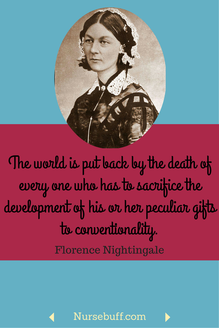 Florence Nightingale Quotes 25 Greatest Florence Nightingale Quotes For Nurses  Pinterest