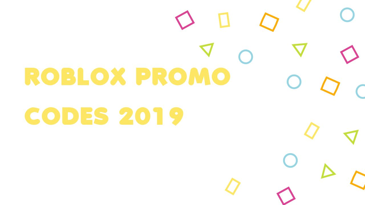 List Of Roblox Promotional Codes Roblox Promo Codes 2019 Promo Codes Coding Roblox