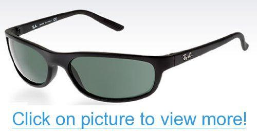 86553471ca Amazon.com  Ray-Ban Sunglasses - RB4115   Frame  Matte Black Lens  Grey  Green  Ray-Ban  Shoes