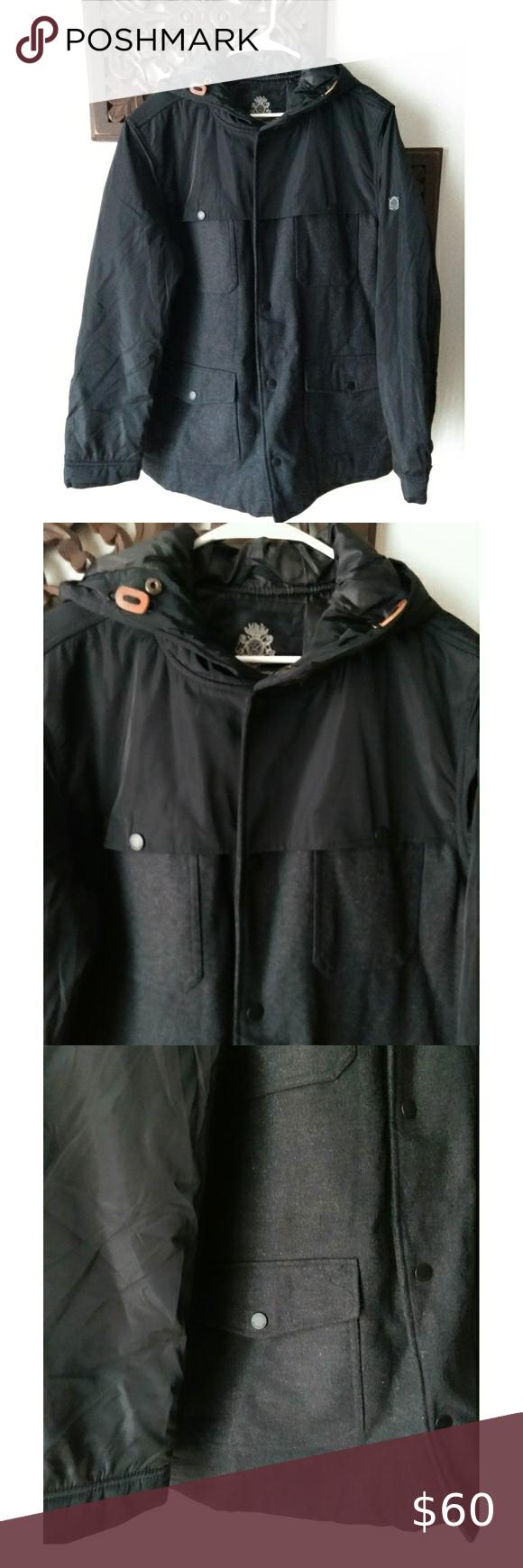 English Laundry Men S Jacket Hooded Jacket Men Clothes Design Fashion [ 1740 x 580 Pixel ]