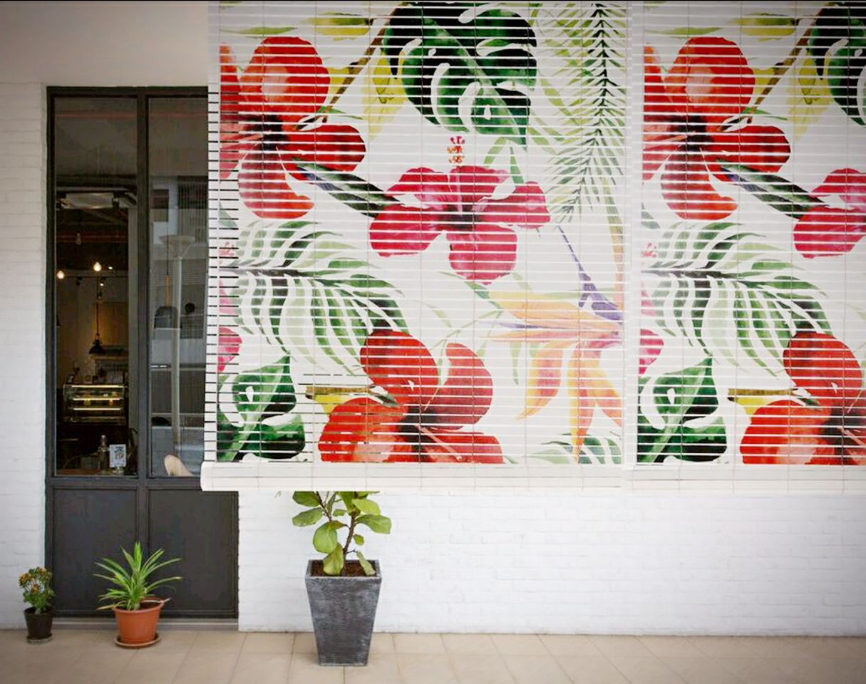 Customise any print of your choice wooden roller blinds pinterest