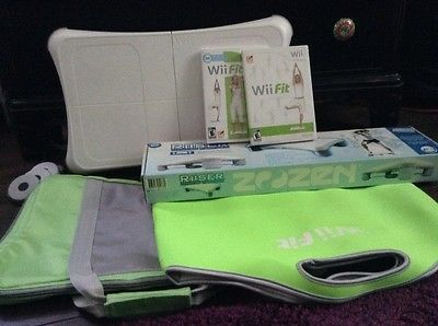 Nintendo Wii Fit balance board with original and plus game and accessories https://t.co/ZNQDi5H9J5 https://t.co/DbxtJTZjXs