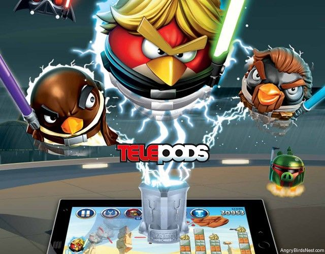 Angry Birds Star Wars 2 The Lowdown on Telepods  To do with the