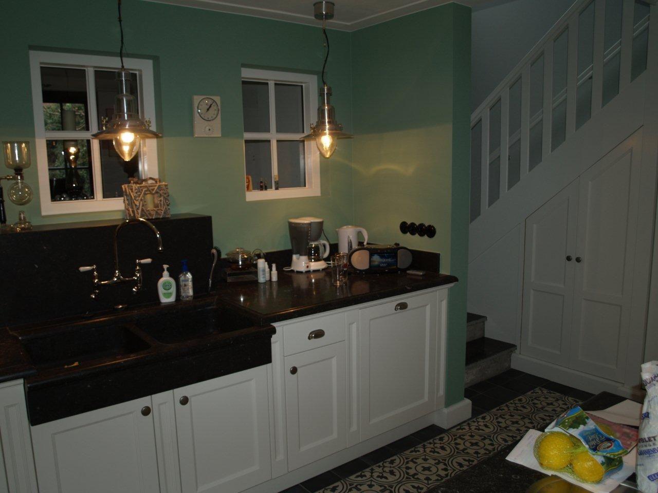 VRI interieur exclusieve landelijk klassieke keuken op maat met 1,5 ...