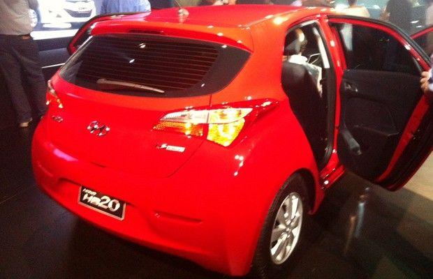 Hyundai HB20 chega para brigar com Volkswagen Gol e companhia (Foto: Luciana de Oliveira / G1)
