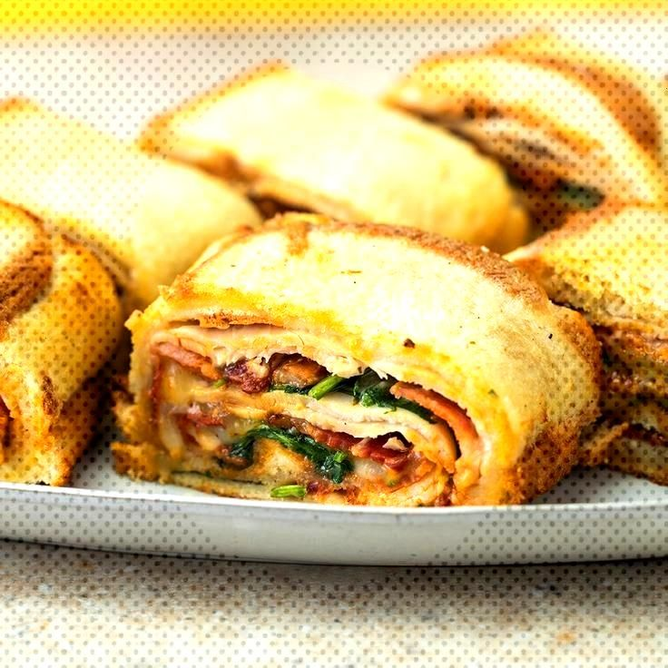 The combination of flavors in this chicken bacon ranch sandwich roll will leave you speechless! Use
