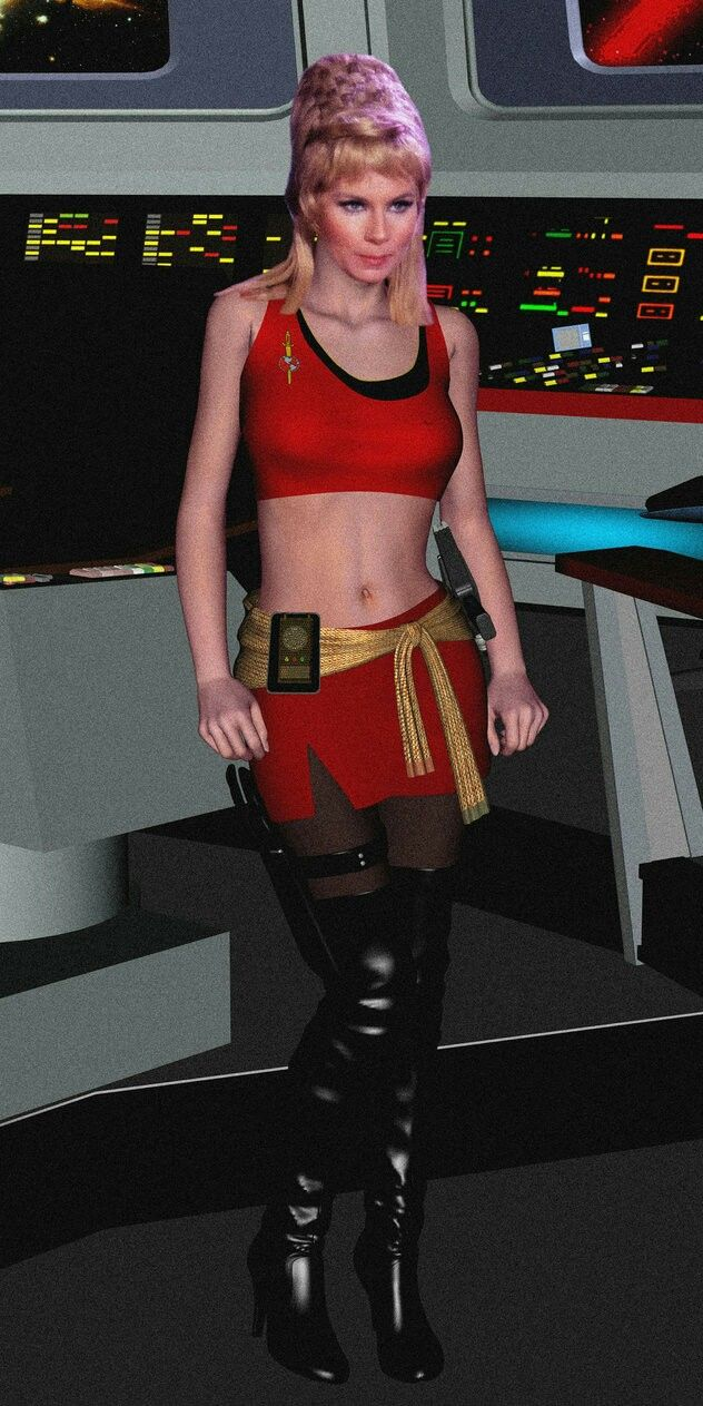 Grace Lee Whitney Voyager