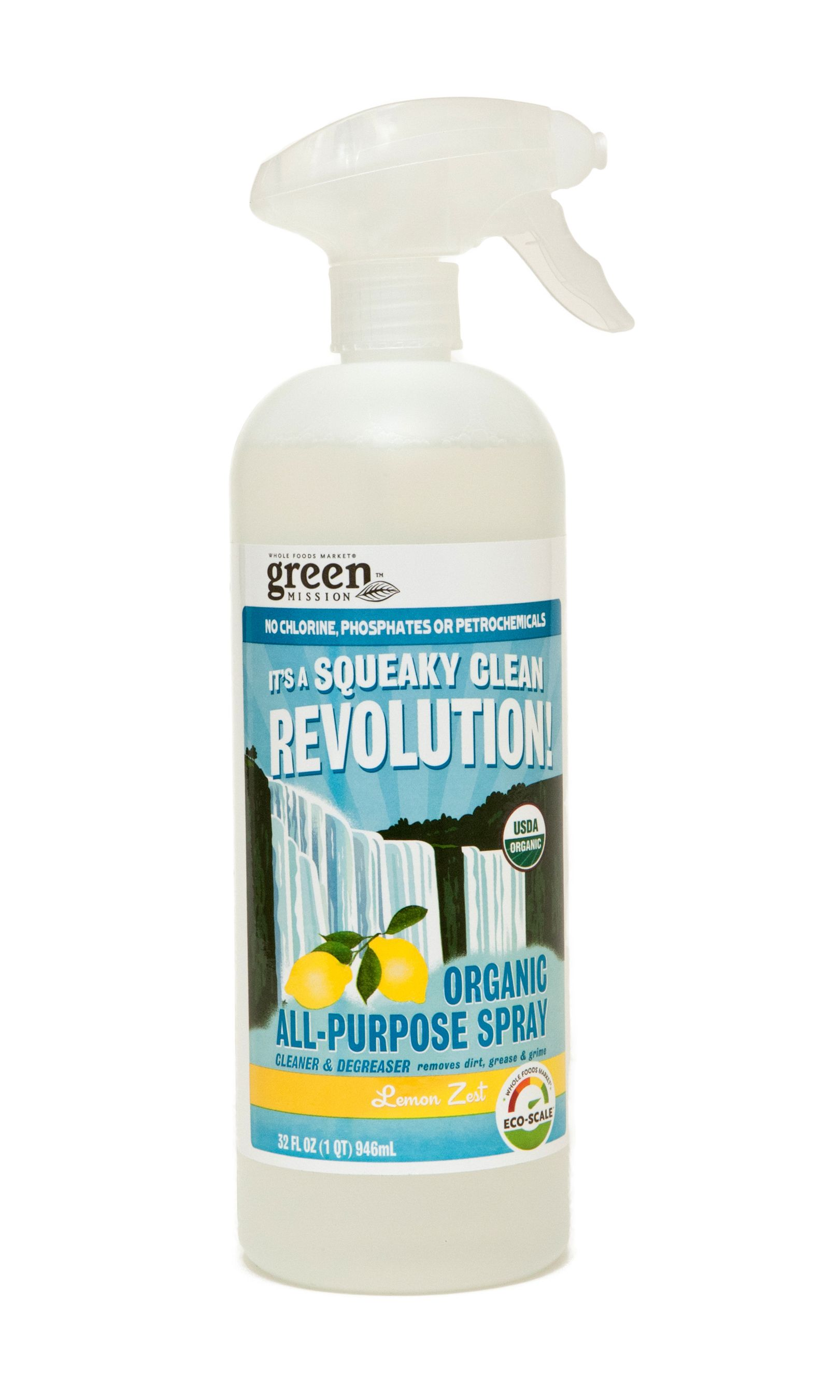 Eco Friendly Cleaning Products At Whole Foods By Green Mission