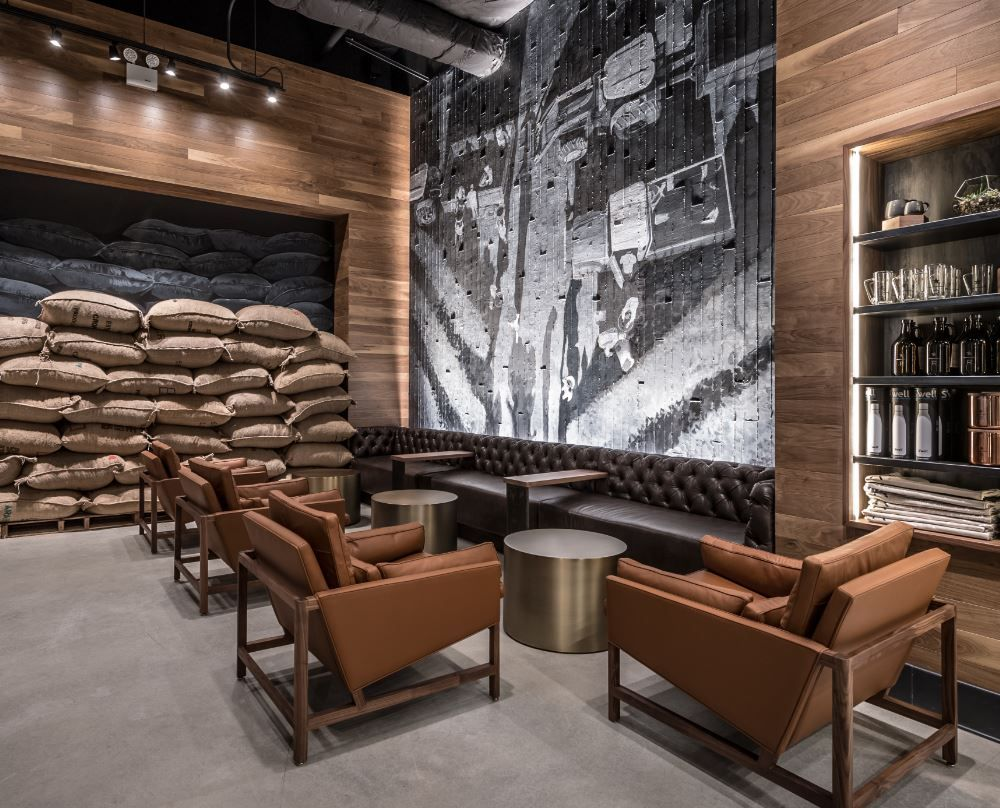 Image result for NYC Starbucks interior   Streamlined NYC ...