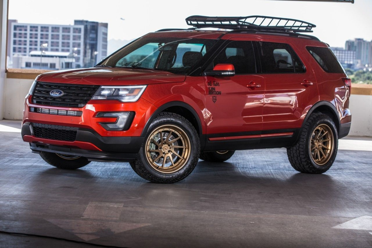 All Star Performance Explorer Sport Concept Ford Explorer 2020