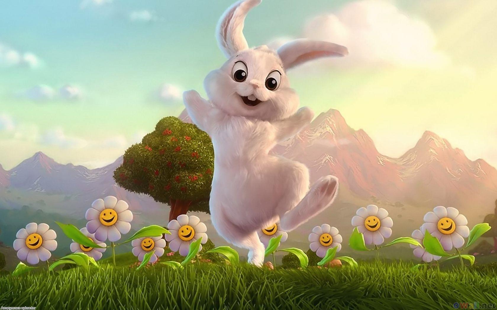 Cute Bunny Rabbits Wallpaper Desktop ...