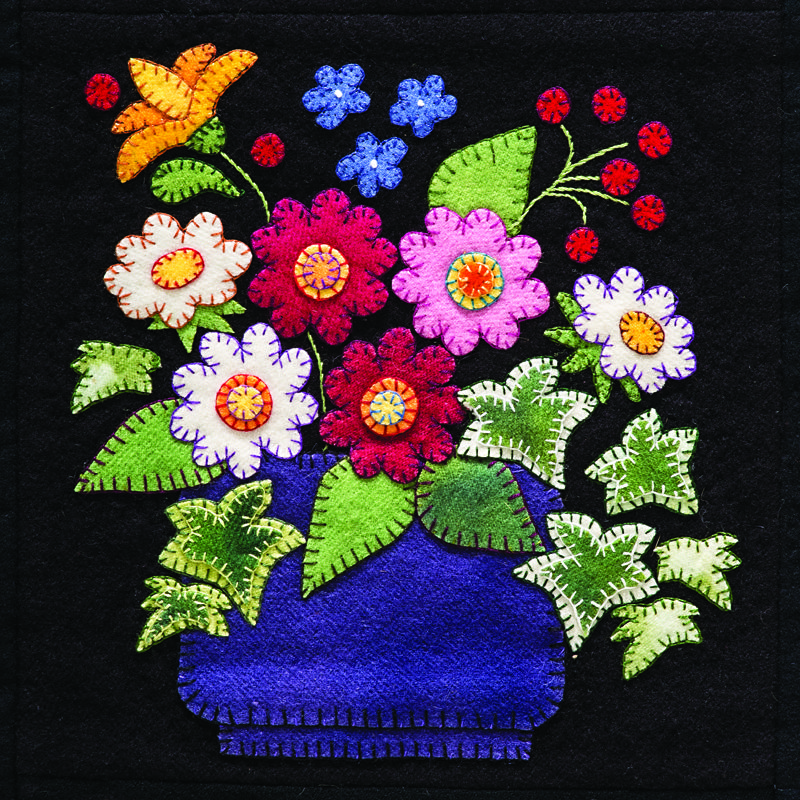 Vintage Flower Applique Patterns: Featuring An Extensive Selection Of Quilt Patterns