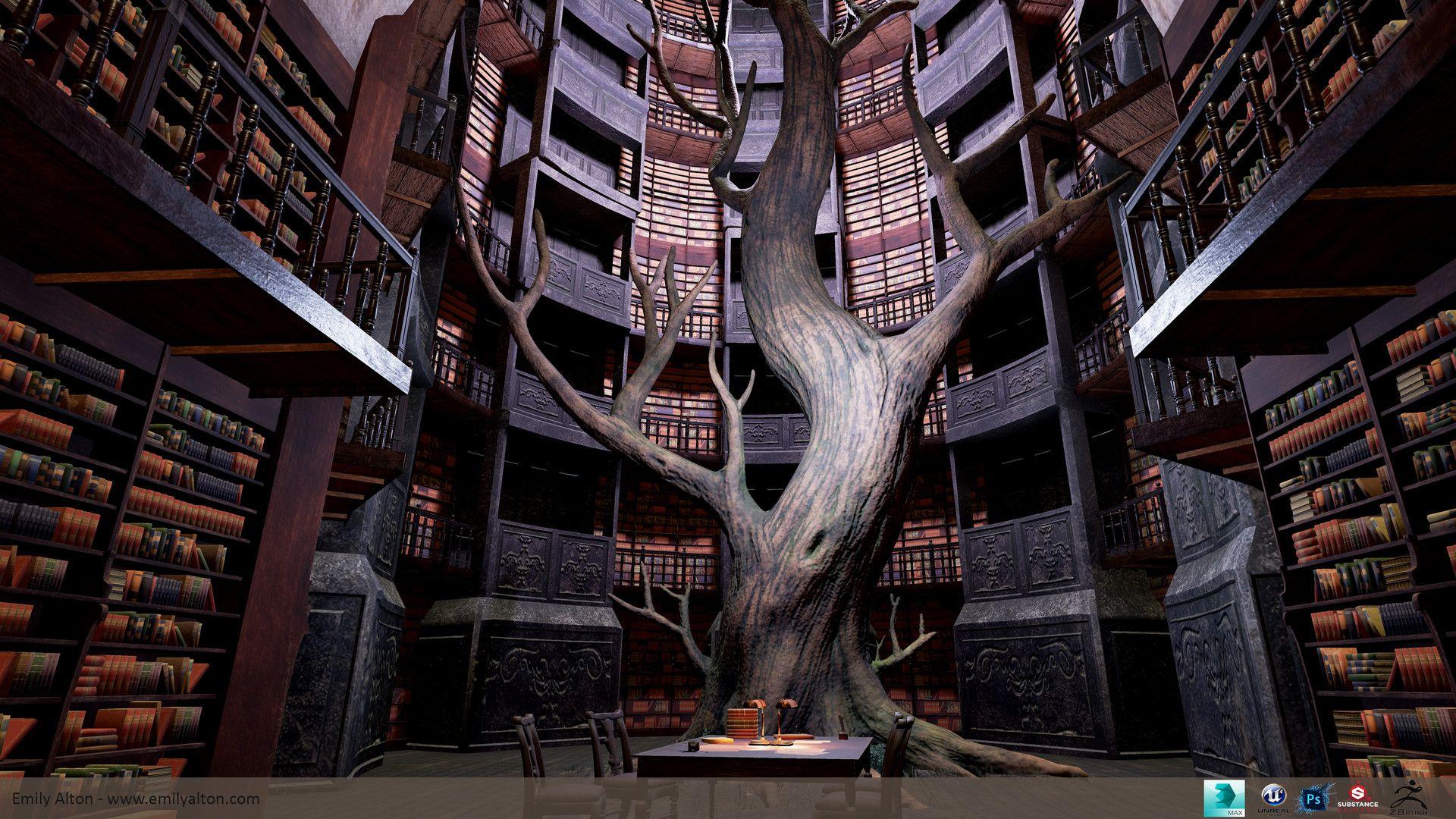 даже картинки волшебных библиотек возможность