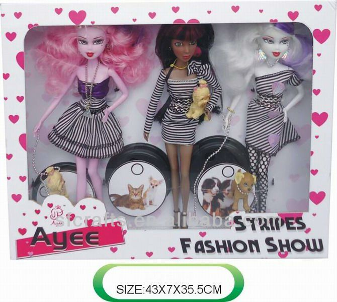 2013 Fashion monster high dolls toy for kid