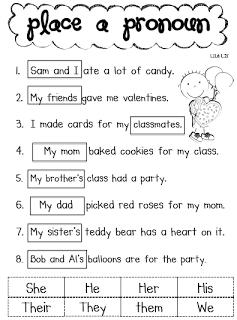 Second Grade Possessive Nouns Worksheets