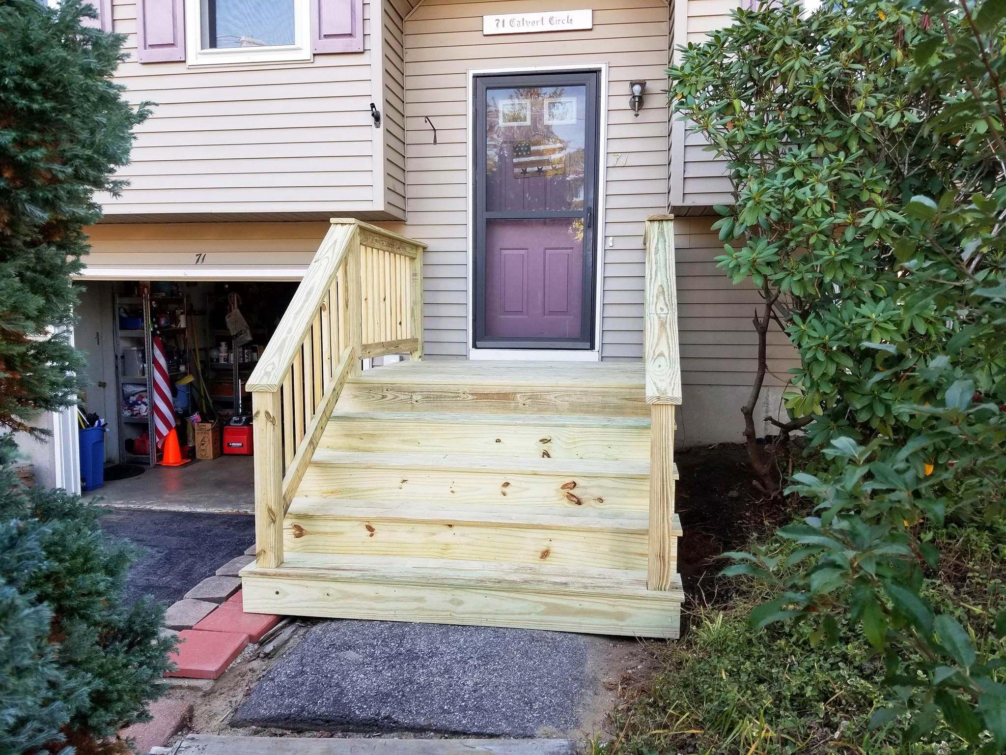 Best Building Wooden Steps Over Concrete Steps Du28 400 x 300