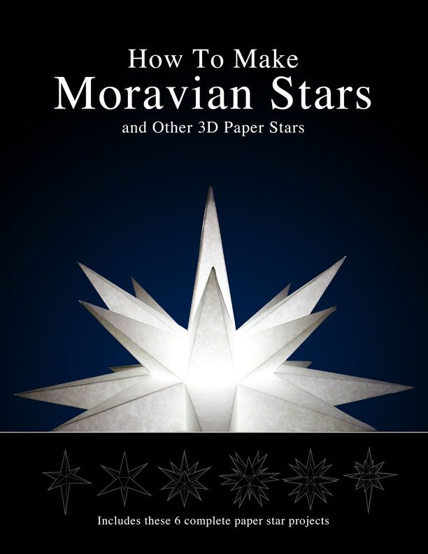 How to Make Paper Moravian Stars - Instructions and Patterns   How ...