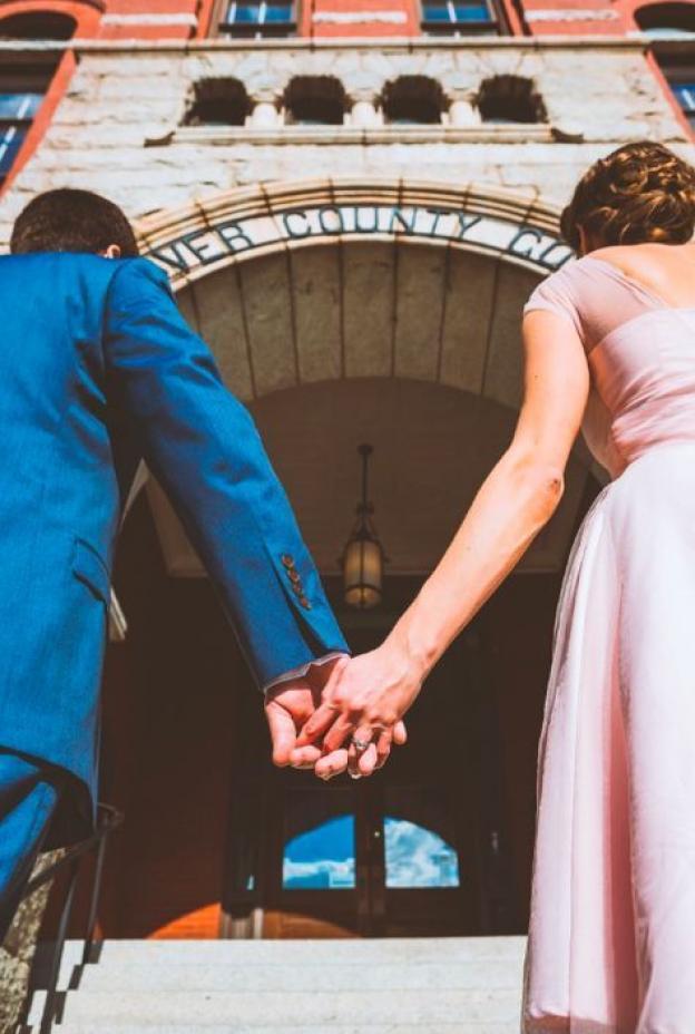 New Hanover County Courthouse wedding photos