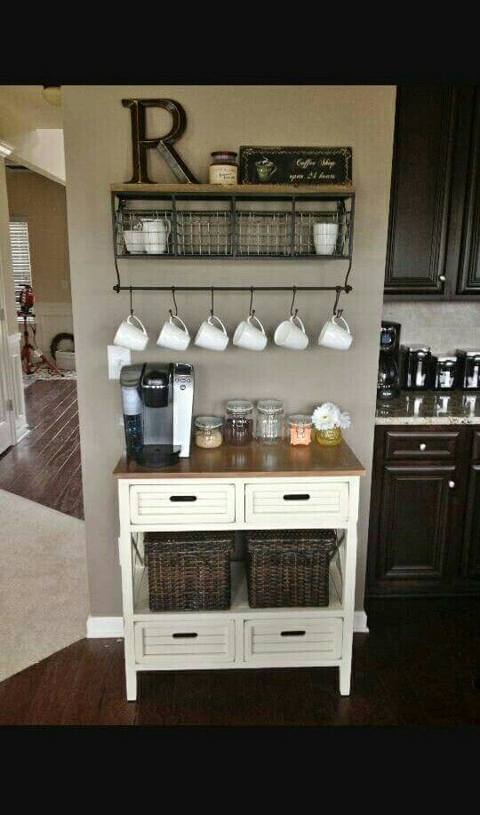 So cute | Dream Home | Pinterest Kitchen Ideas Build Coffee Stations on kitchen coffee center ideas, kitchen buffet ideas, coffee break set up ideas, kitchen baking station, coffee house kitchen design ideas, kitchen bathroom ideas, kitchen wine station, country living 500 kitchen ideas, kitchen couch ideas, great kitchen ideas, kitchen decor coffee house, coffee themed kitchen ideas, kitchen fridge ideas, kitchen bookshelf ideas, coffee bar ideas, martha stewart kitchen ideas, kitchen beverage station, kitchen designs country living, kitchen cabinets, kitchen library ideas,
