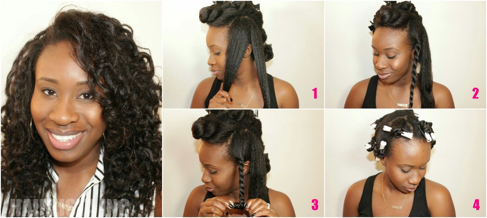 how to maintain a twist out on relaxed hair
