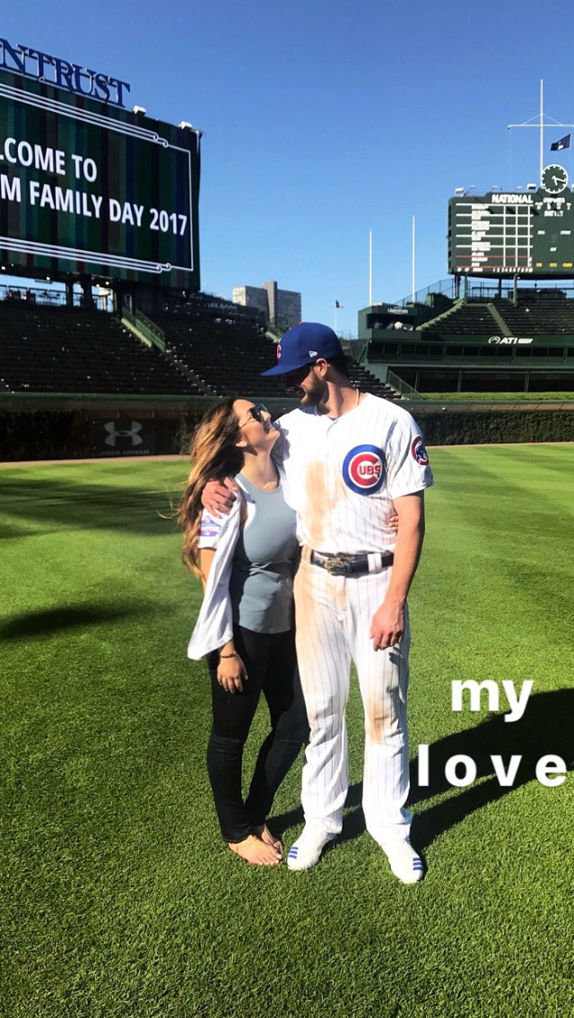 MY HEART Family day, Kris bryant, Pro athletes