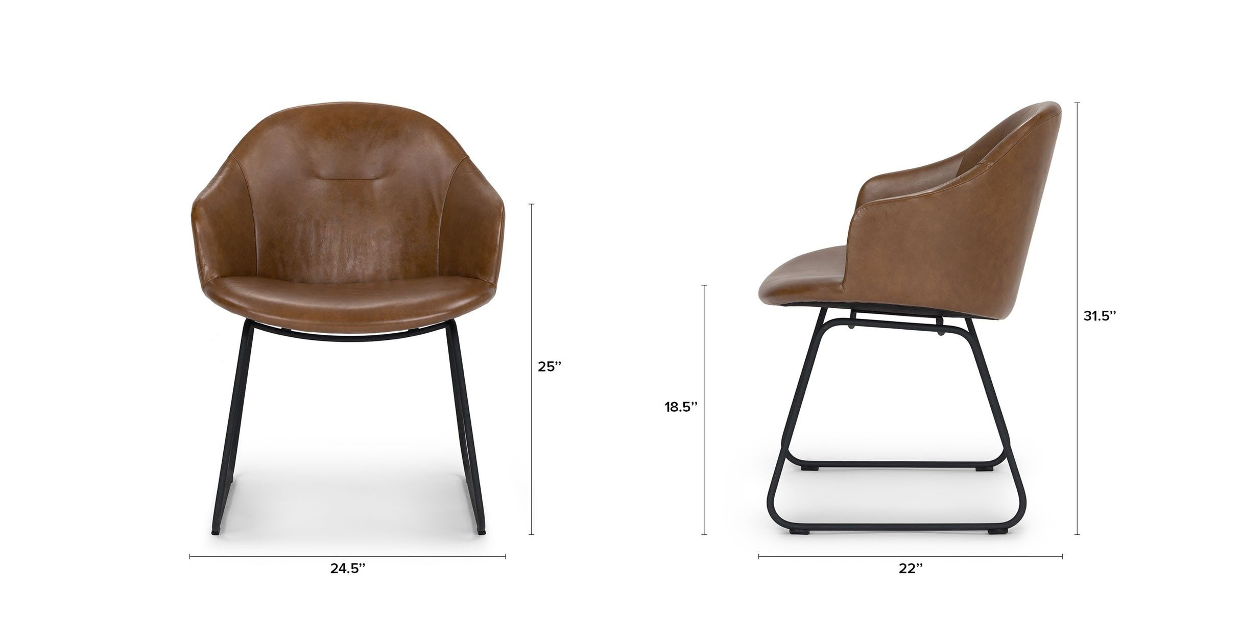Glove Bella Tan Dining Chair Chairs Article Modern Mid Century And Scandinavian Furniture Tan Dining Chair Midcentury Modern Dining Chairs Dining Chairs