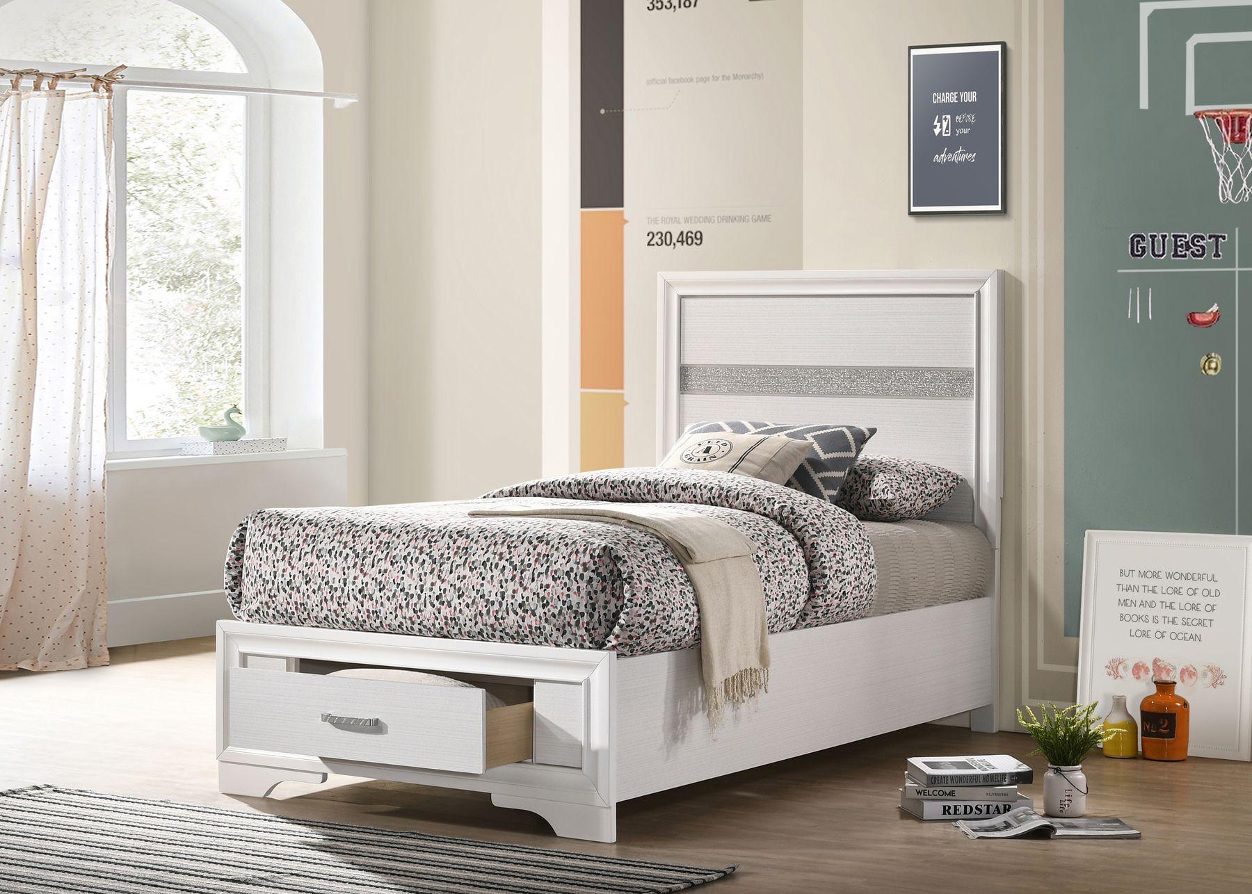 Image result for miranda storage bed coaster twin