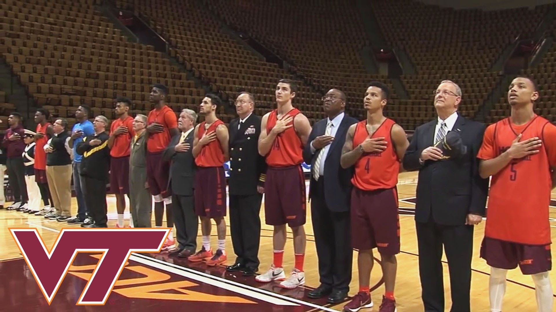 Buzz Williams and the Virginia Tech Men's Basketball team