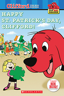 "Clifford and Emily Elizabeth celebrate in ""Happy St. Patrick's Day, Clifford!"""