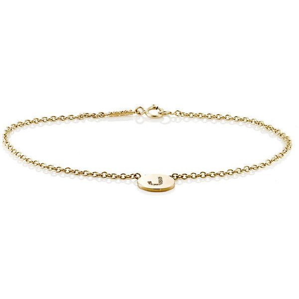 Womens Initial P Disc Bracelet Jennifer Meyer uQG3wB