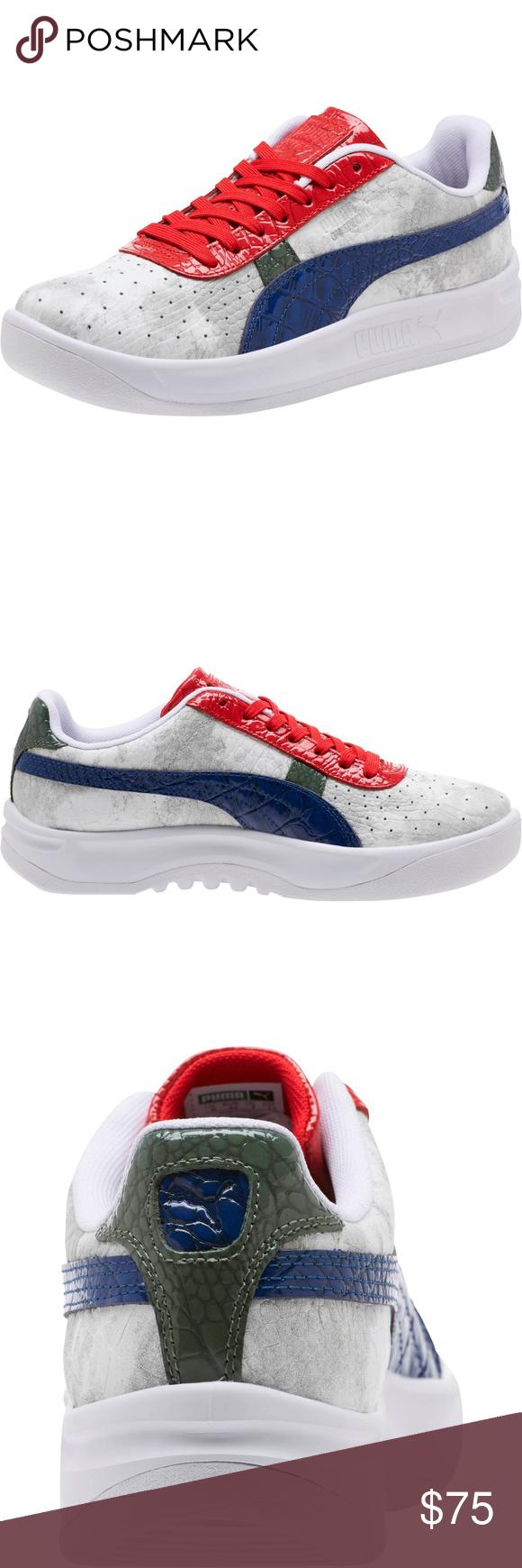 sale retailer 64798 b22ba Puma GV Special Gator White Shoes NEW Puma GV Special Gator ...