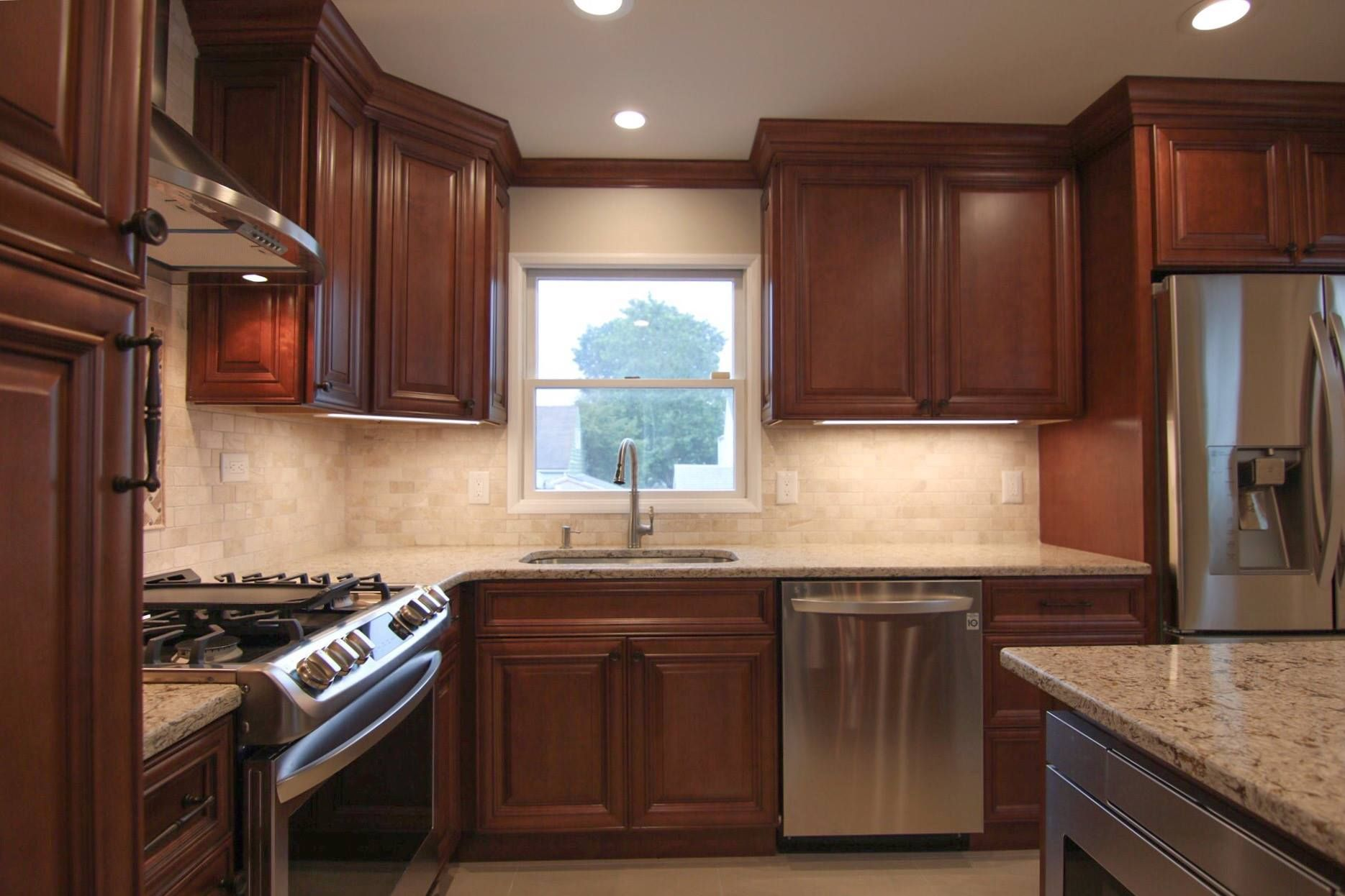 Cherry Kitchen Cabinets Kitchen Remodel Cost Cherry Cabinets Kitchen Kitchen Remodel Layout
