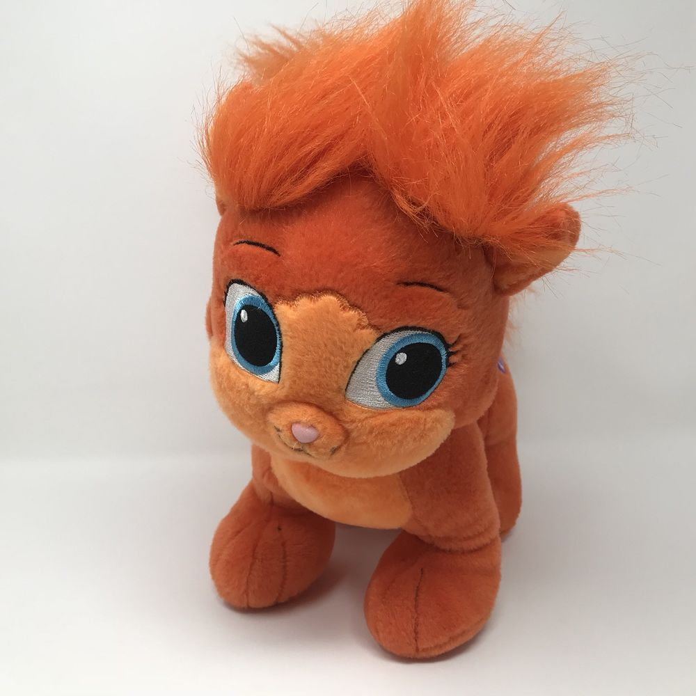 Build A Bear Disney Palace Pets Treasure Ariel S Orange Plush