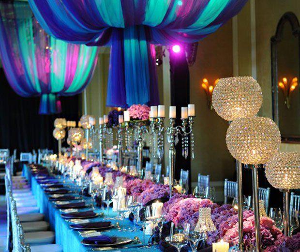 25 of the most beautiful wedding reception decor and table for Most beautiful wedding venues in the world