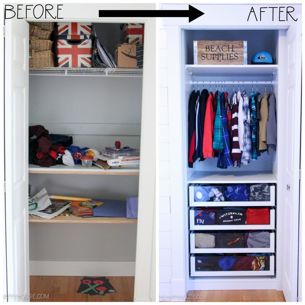 Small Reach In Closet Makeover With Ikea Pax Closet Small