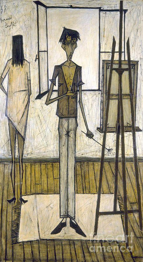 Bernard Buffet, 1948 | arts (2) | Pinterest | Buffet, Croquis and ...