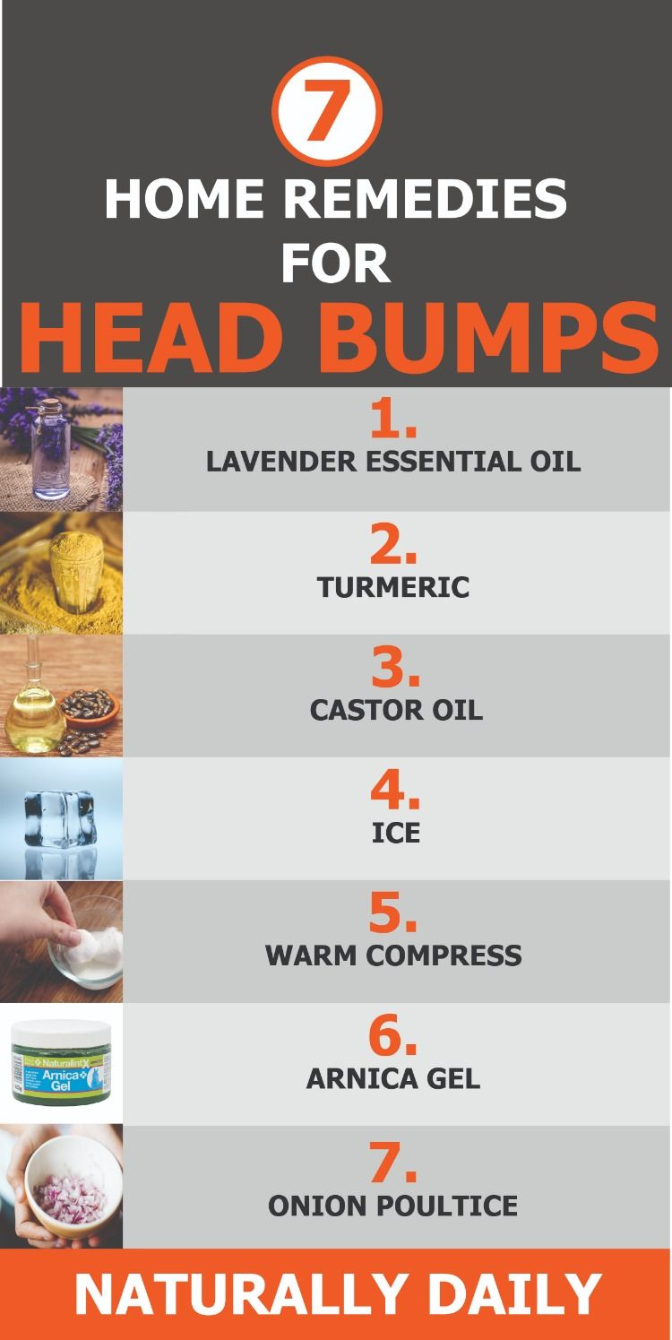7 Home Remedies for Head Bump: to Reduce Pain & Swelling