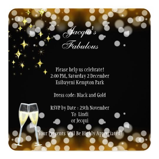 50th Fabulous Gold Glitter High Heels Birthday Invitation Zazzle Com Glitter High Heels 50 And Fabulous Gold Glitter