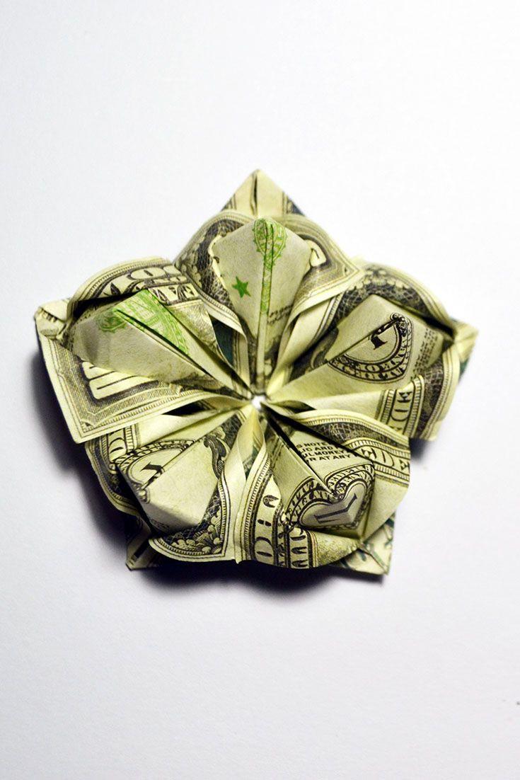 Beautiful Money Flower Tutorial Diy Decoration How To Make A Money