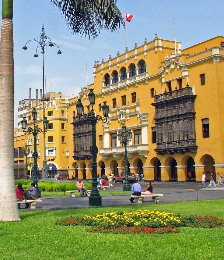 City Hall Lima Peru Lima Peru Peru Travel Lima City