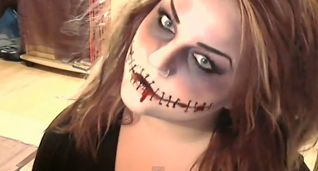 Halloween Make Up Tutorial Last Minute: ecco un'idea per un trucco facile