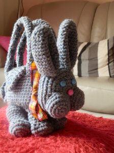 sac lapin au crochet