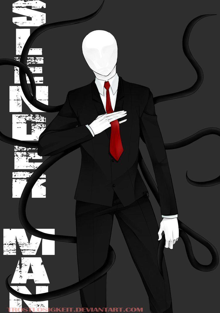 Slender Man by Trostlosigkeit on DeviantArt   Slenderman