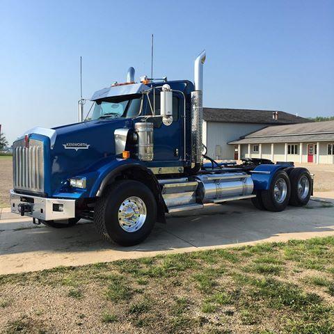 Kw T 800 Heavy Haul With Images Big Rig Trucks Big Trucks