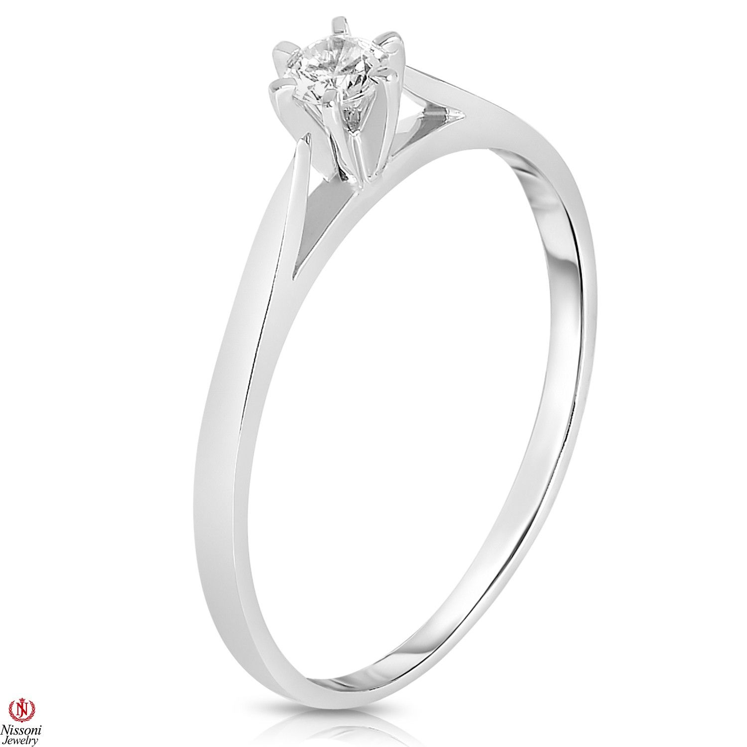 Ebay NissoniJewelry presents La s 1 10CT Diamond Engagement