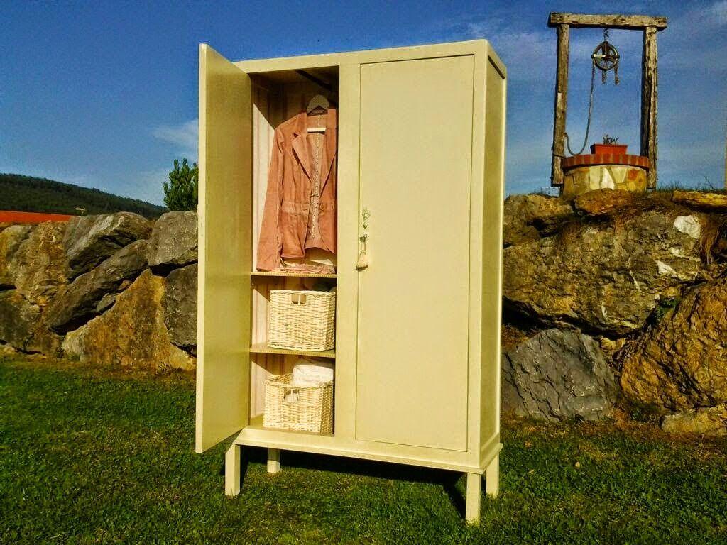 Un armario en 2 versiones armarios roperos antiguos y - Armarios antiguos baratos ...